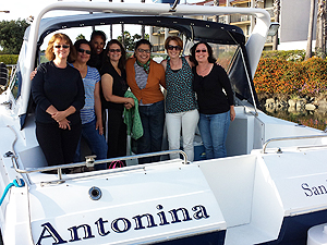 Ladies cruise on Antonina