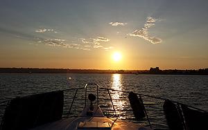 Antonina yacht sunset cruise