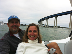 Enjoying a Cruise by Coronado Bridge