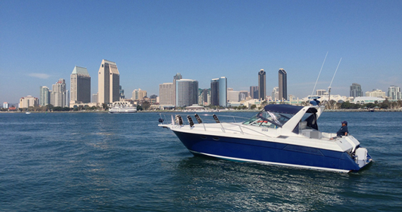 Antonina on San Diego Bay