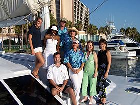 Aolani catamaran yacht crew