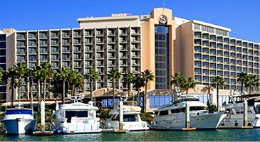 San Diego Sheraton Hotel and Marina.
