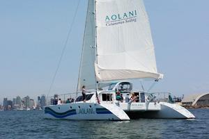 Aolani catamaran charter