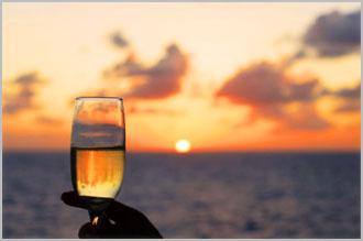 Jada sunset champagne cruise