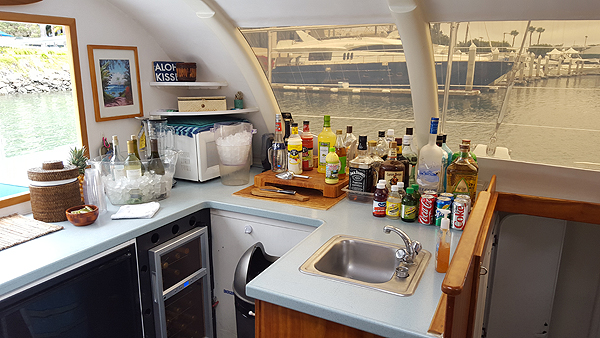 galley and bar service