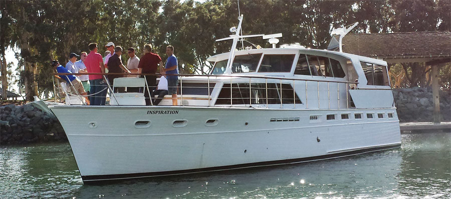 Inspiration yacht charter