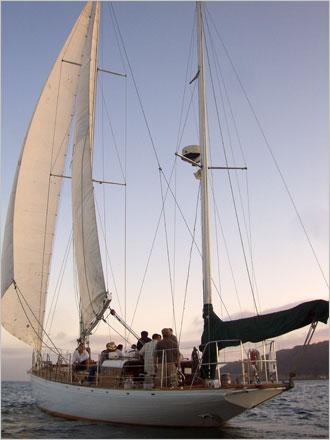 Jada sailing yacht in San Diego