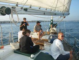 Group Sailing Charter on the Jada