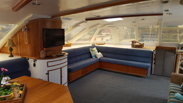 starboard side salon