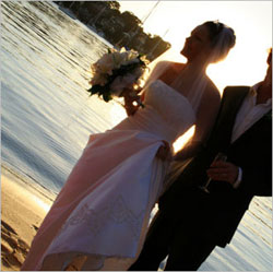 Wedding at Sea on board Jada
