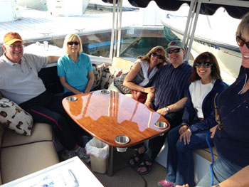 Bay Dreamin Cruise passengers