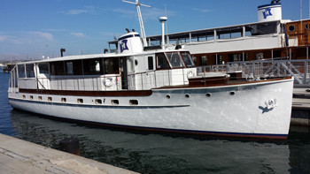 Renown motor yacht by Hornblower