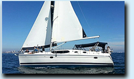 Marinella sailboat