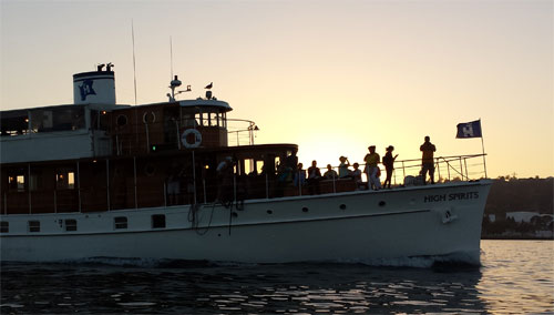 High Spirits sunset cruise