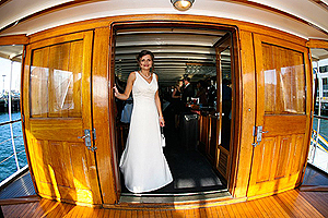 Wedding at Sea aboard High Spirits