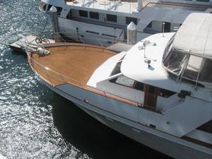 Quiet Heart forward deck