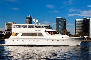 Quiet Heart power yacht
