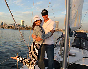 San Diego sunset sailing