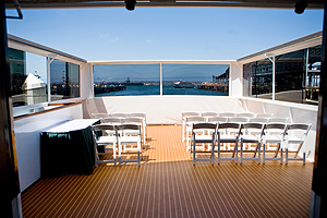 Emerald Hornblower aft deck