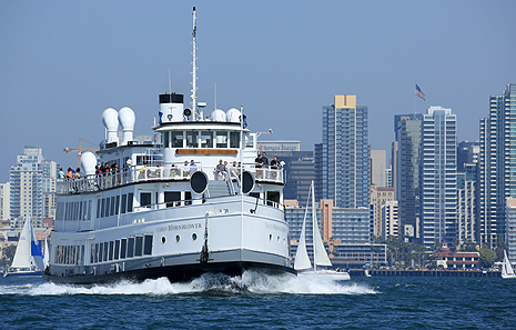 Admiral San Diego Bay Cruises And Yacht Charters