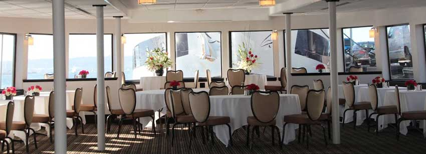 Admiral Hornblower dining salon