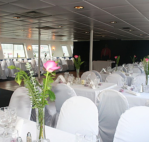 Adventure Hornblower Dining Room