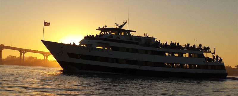 Adventure Hornblower sunset dinner cruise