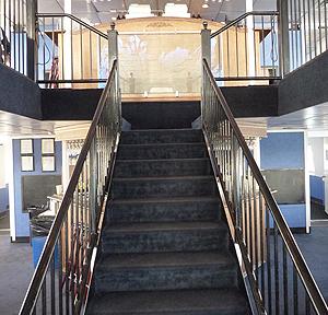 Adventure Hornblower grand staircase