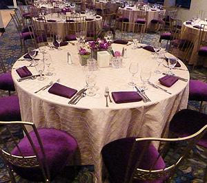 Inspiration Hornblower table setting