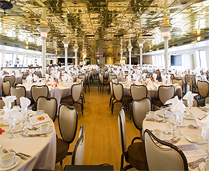 Inspiration Hornblower dining room