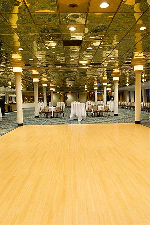 Inspiration Hornblower dance floor