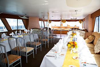 Newport Hornblower formal dining
