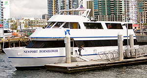Newport Hornblower at dock