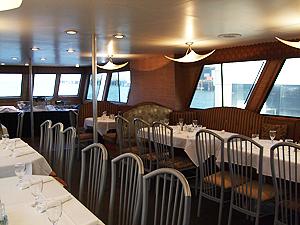 Newport Hornblower dining room
