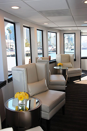 lounge chairs on the Admiral Hornblower