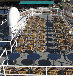 Admiral outdoor deck
