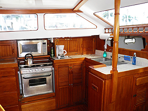 Slipaway yacht galley